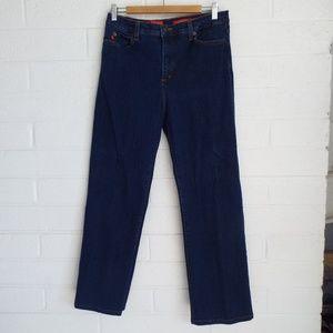 NYDJ 14 Tummy Tuck Jeans medium wash jeans
